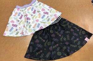 Candychuu 200530 ポップロゴ柄スカート