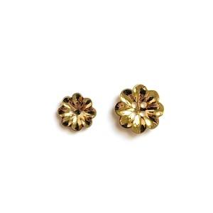 70'sお花型ヴィンテージボタンS(14mm)