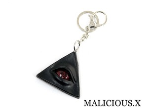 reptiles(A) eye ring charm / red