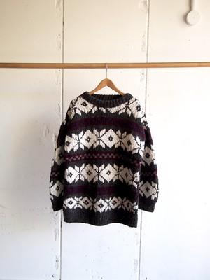 USED, Wool Handmade Knit