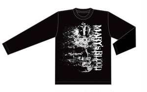 Mary's Blood skull ロングスリーブ Big Tシャツ