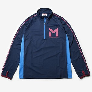 MMASW Active Zip L/Sleeve (Navy)