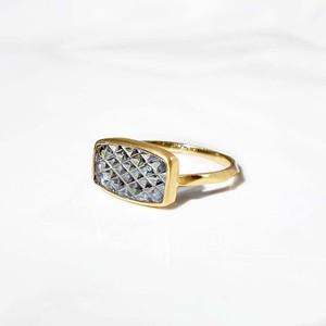 Zoisite KIRIKO Ring(R376-ZS)