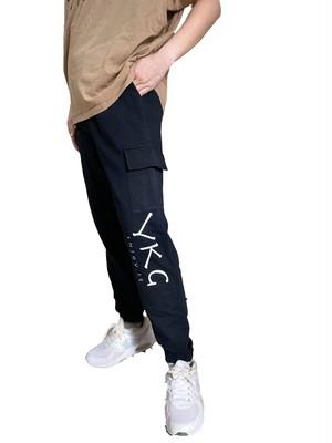 【YKG】ポケットつきパンツ【ブラック】【新作】イタリアンウェア《M&W》