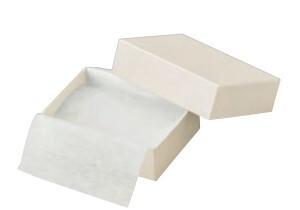 アクセサリー紙箱白綿入りフリーケース 新色シリーズ 10個入り AR-F67