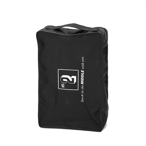 LORINZA No.2 Travel Pouch LO-STN-PC02 BLACK