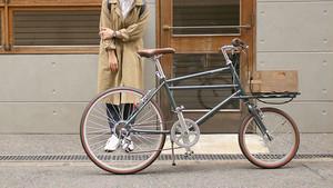 24インチカーゴバイク 6段変速付き Nicot (グレー)