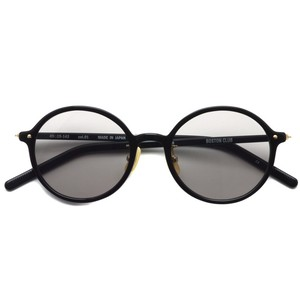 BOSTON CLUB ボストンクラブ / AVI Sun / 01 Black- Gray Lenses ブラック-グレーレンズ ラウンドサングラス