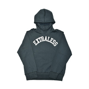 EXTRALESS Letterman Hoodie Green EX19SS0006