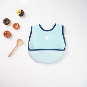 カモシカ/洗濯できる立体ポケットのお食事エプロン