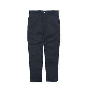 STRETCHED TAPERED PANTS - NAVY