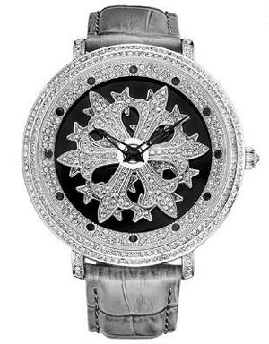 Davenaダヴェナ腕時計 Cross B シルバー/グレー(31239-870)