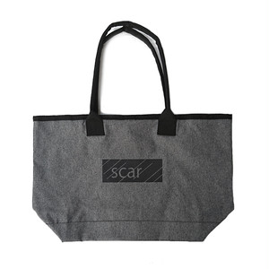 scar /////// BLACKBOX TOTE BAG (Charcoal)