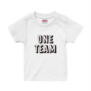 【キッズ】2019流行語 ラグビー ONETEAM プリントTシャツ