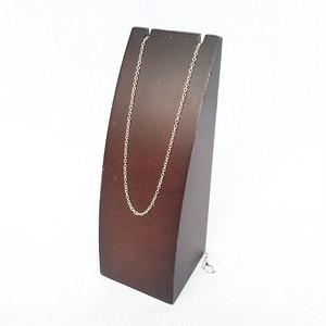 ラウンドロール チェーン シルバー 銀 ネックレス 60cm 564