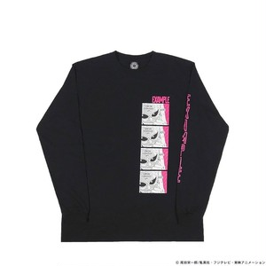 EXAMPLE x ONE PIECE DOFLAMINGO L/S TEE /BLACK