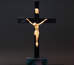 バチカン奉納モデル  十字架のみ (漆塗り祭壇)