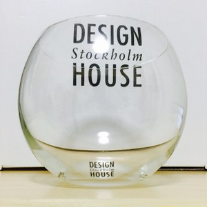 DESIGN HOUSE Stockholm Globe glass 33cl (底:白色)