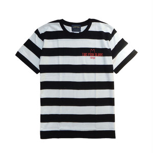 【THE FISH SLAVE S/S TEE】black / white