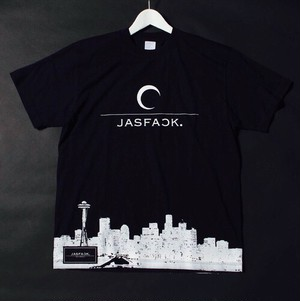 TOKYO MOON.Tee (JFK-007) - Black