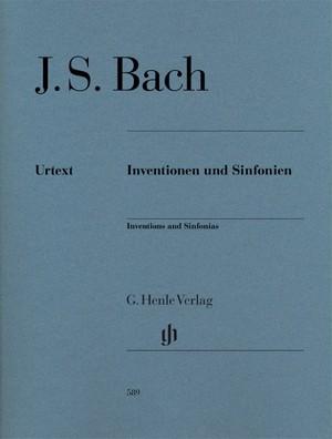 J.S. バッハ : インヴェンションとシンフォニア / ピアノソロ