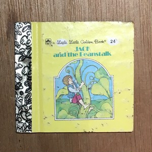 a little little Golden Book 24: JACK and the Beanstalk/Dora Leder