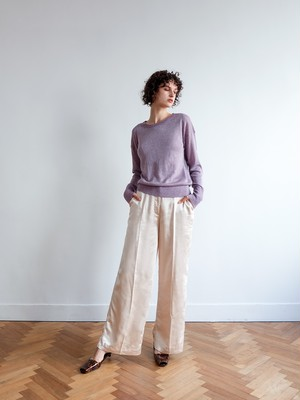 sparkle high-gauge knit(lavender)