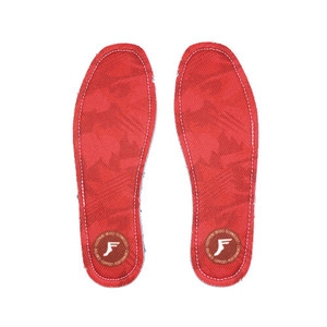 FOOTPRINT INSOLE TECHNOLOGY /  FP INSOLE / KING FOAM INSOLES / RED CAMO / 5mm / 26-26.5cm / 27-27.5cm