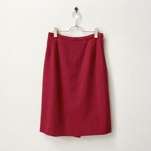 80年代 USA製 ヴィンテージ ウール スカート アメリカ 古着 日本L