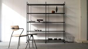 dual shelf W