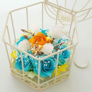 折り紙のバラ小物オーナメント