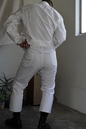 <STYLING> ⇨ TUKI - cowboy jacket & pants white