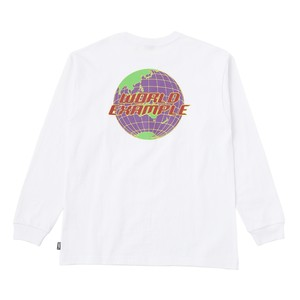 EXAMPLE WORLD EXAMPLE L/S TEE / WHITE