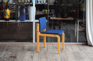 Stackable Beech Dining Chair by Friis and Moltke for Fritz Hansen