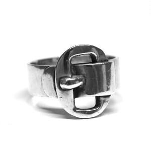 Vintage Mexican Belt Motif Ring