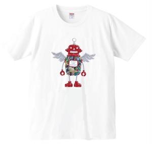 (SALE!)Tシャツ ロボフロント ホワイト