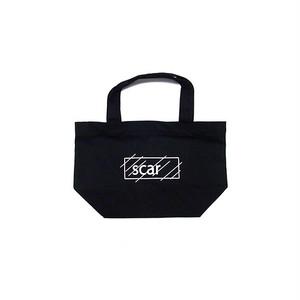 scar /////// OG LOGO STANDARD TOTE BAG / SMALL (Black)