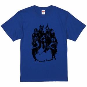 AmiliyahメンバーTシャツ(青×黒)