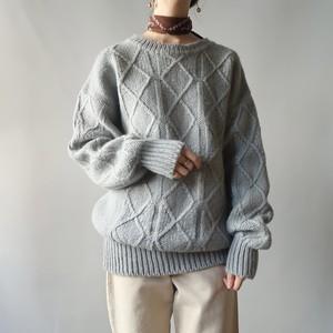 Alpaca wool knit pullover