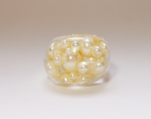 pearl ring [cream]