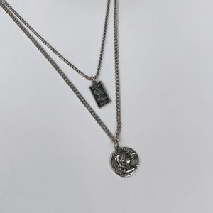 コイン2連ネックレス BL6165