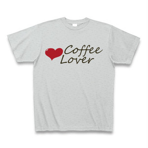 Tシャツ-珈琲ラバー(灰)