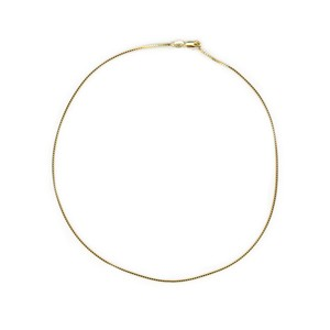 【GF1-34】18inch gold filled chain necklace