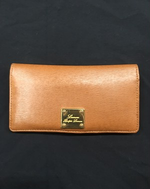 LAUREN RALPH LAUREN Leather Long Wallet