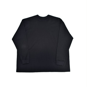 MAISON EUREKA Giza Cotton L/S Pack Tee For BPS Black 081BP