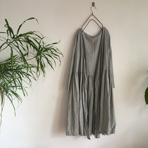 cache-coeur  one-piece  stripe    cotton/linen