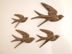 Flying Birds ダークブラウン