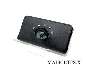reptiles eye wallet /smoke blue