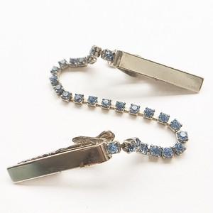blue rhinestone sweater clip[s-183]