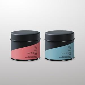 和紅茶&和烏龍茶セット 30g 茶缶